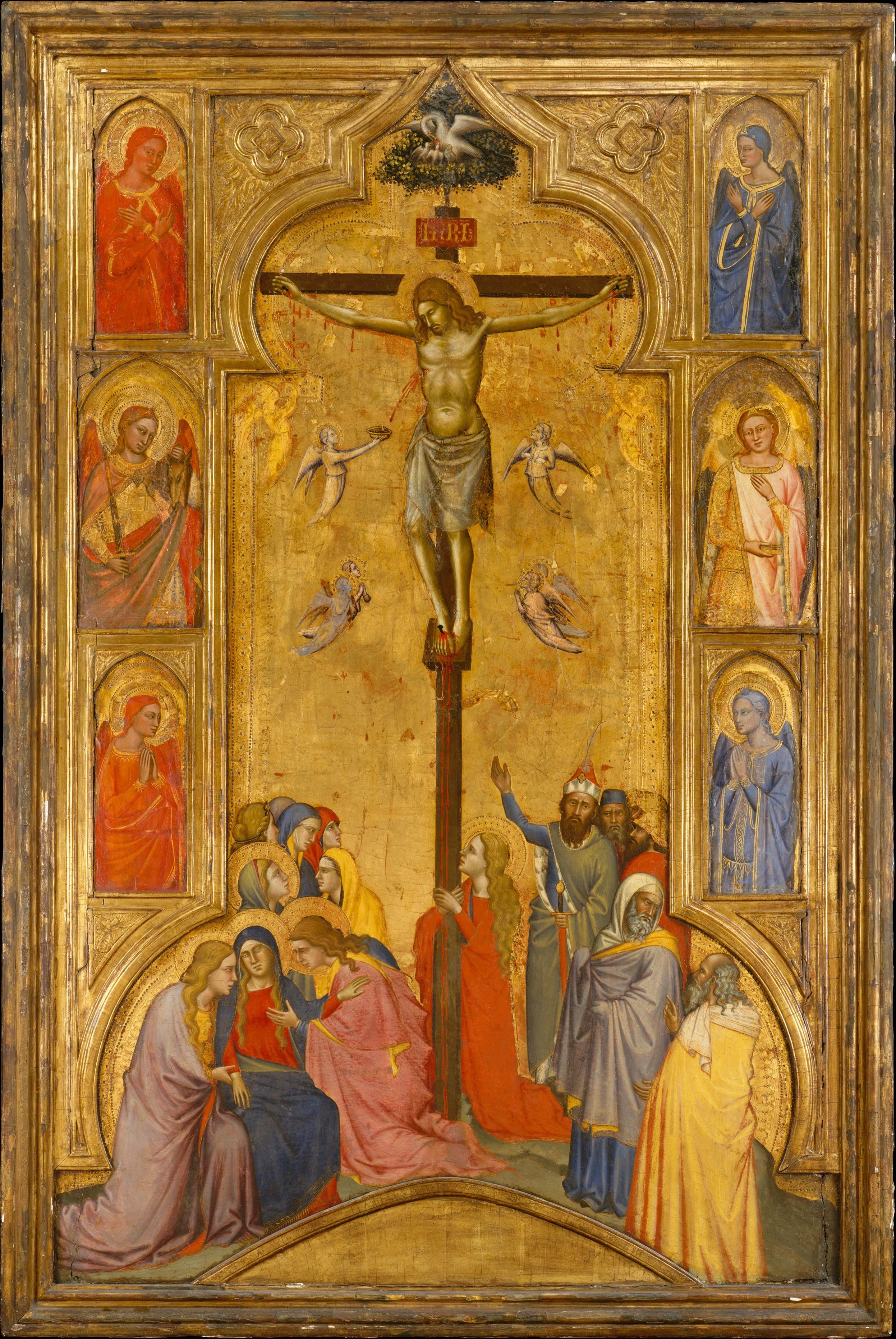 Andrea Di Cione Orcagna The Crucifixion The Met
