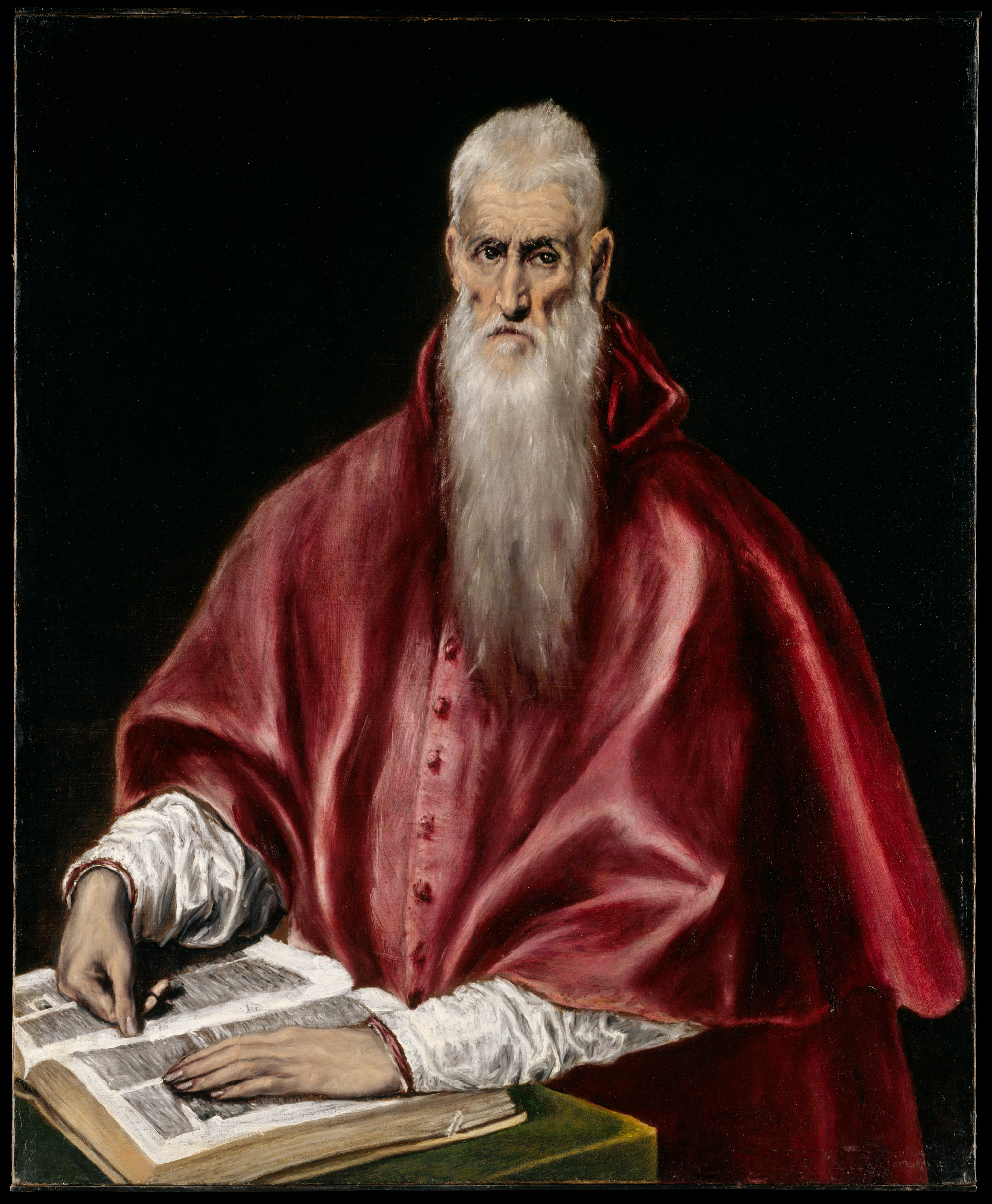 El Greco Domenikos Theotokopoulos Saint Jerome As