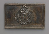 Medusa mask, model attributed to Severo Calzetta da Ravenna (Italian, active by 1496, died before 1543), Copper alloy with warm brown patina and areas of a worn black patina on top.
