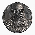 Portrait medal of George the Bearded (duke of Saxony) (obverse); coat of arms (reverse), Attributed to Peter Flötner (German, Thurgau 1485–1546 Nuremberg), Silver
