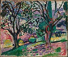 Olive Trees at Collioure, Henri Matisse (French, Le Cateau-Cambrésis 1869–1954 Nice), Oil on canvas