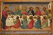 The Last Supper, Ugolino da Siena (Ugolino di Nerio) (Italian, Siena, active by 1317–died ?1339/49), Tempera and gold on wood