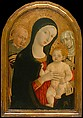 Madonna and Child with Saints Francis and Catherine of Siena, Matteo di Giovanni di Bartolo (Italian, Siena ca. 1430–1497 Siena), Tempera on wood, gold ground