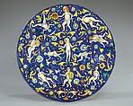 Dish (piatto), Maiolica (tin-glazed earthenware), Italian, probably Faenza
