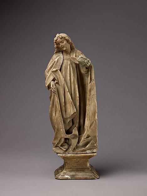Saint Matthew, Southern Netherlands, Alabaster, Southern Netherlands or Northern France