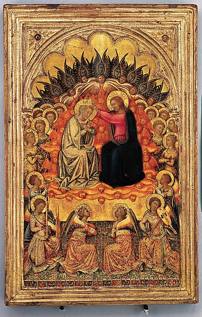 Siena | Engaged cassetta frame on a polyptych panel | Sienese | The Met