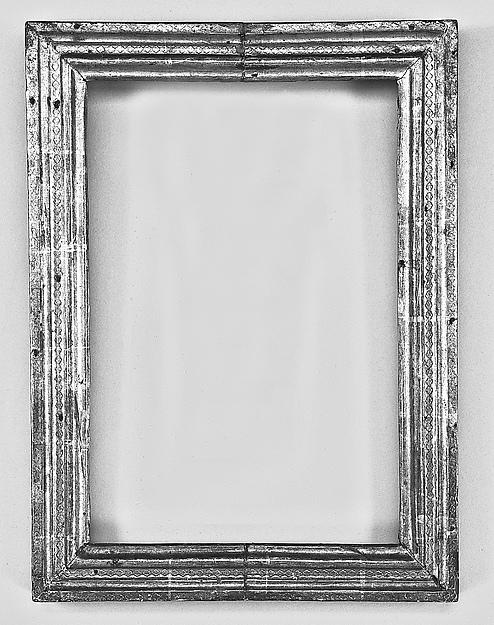 Cassetta frame, Poplar(?). Gilt; red-orange bole. , Sienese