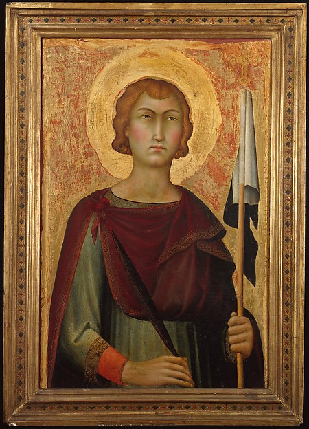 Saint Ansanus, Simone Martini (Italian, Siena, active by 1315–died 1344 Avignon), Tempera on wood, gold ground