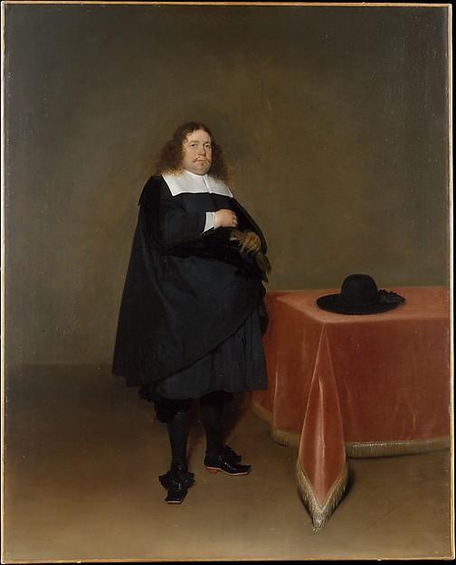 Burgomaster Jan van Duren (1613–1687), Gerard ter Borch the Younger (Dutch, Zwolle 1617–1681 Deventer), Oil on canvas