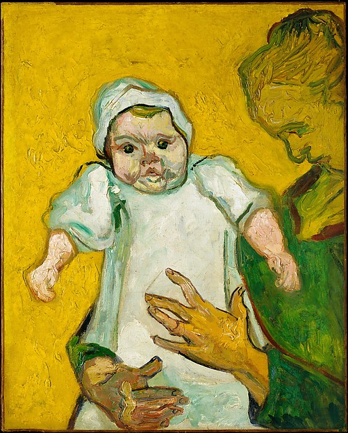 Madame Roulin and Her Baby, Vincent van Gogh (Dutch, Zundert 1853–1890 Auvers-sur-Oise), Oil on canvas
