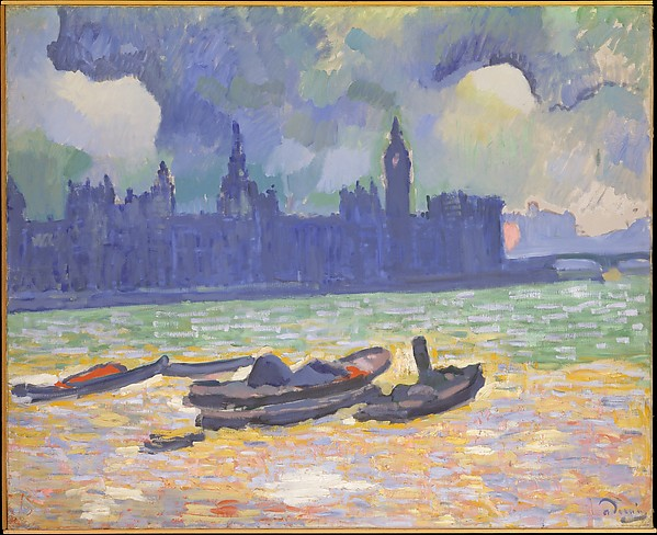 The Palace of Westminster, André Derain (French, Chatou 1880–1954 Garches), Oil on canvas