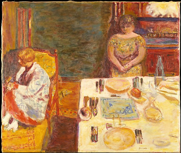 Before Dinner, Pierre Bonnard (French, Fontenay-aux-Roses 1867–1947 Le Cannet), Oil on canvas