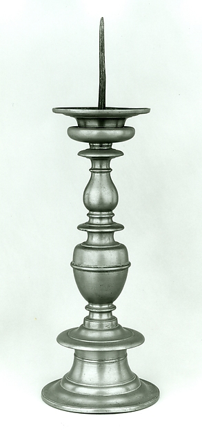 Altar Candlestick (pair with .1449), Brass, South Netherlandish or German