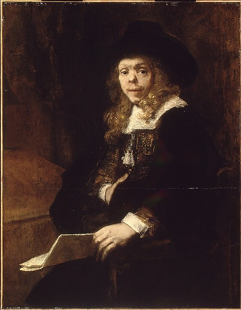 Portrait of Gerard de Lairesse